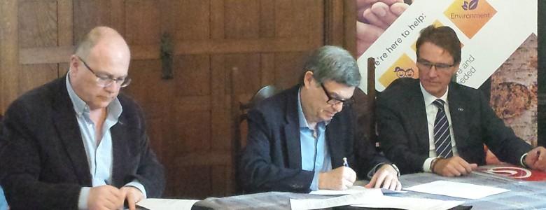 Signatura acord Quadpack/Blat/FACS 1