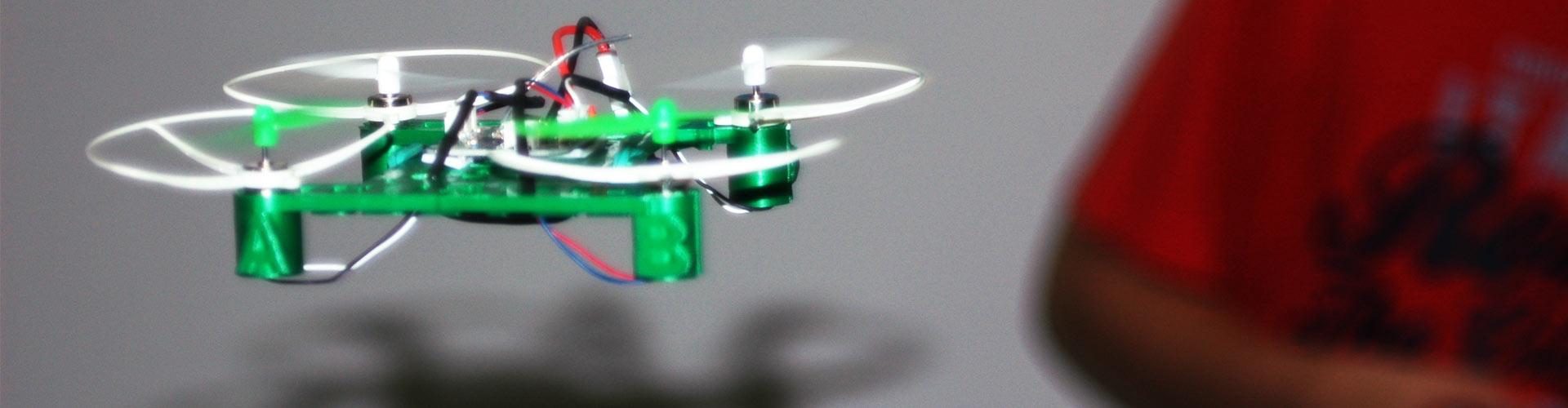 """""""Crea minidrons amb impressió 3D"""""""