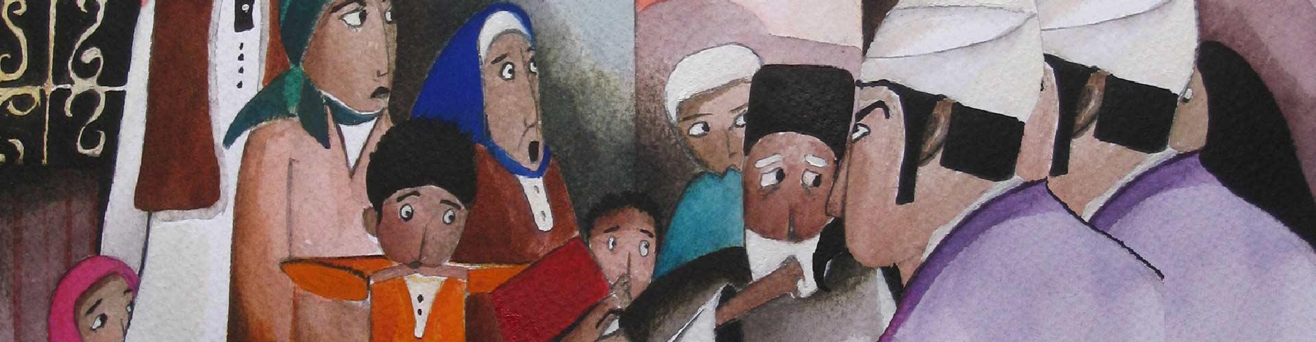 """""""Exposició: Contes de la Mediterrània"""""""