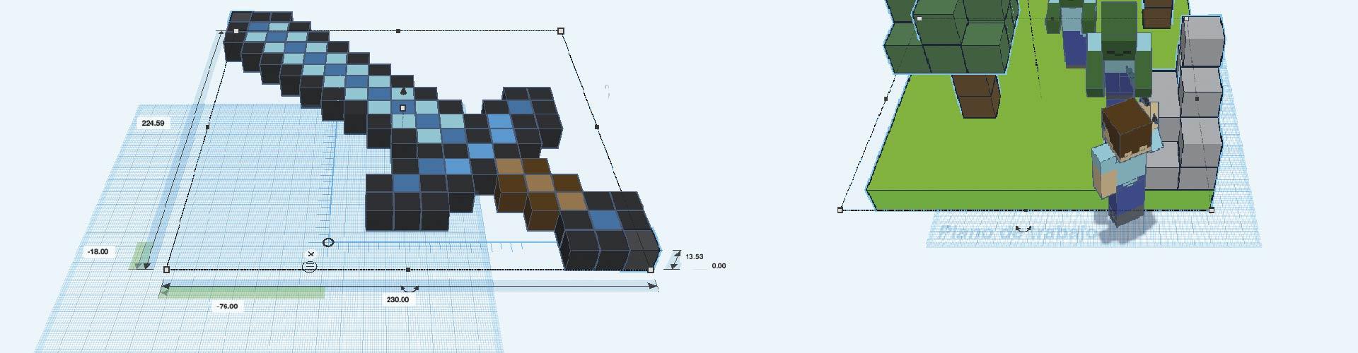 """""""Taller Mini Innova: Impresión 3D y Minecraft"""""""
