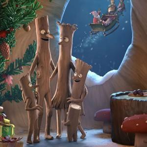 El Nadal del senyor Branquilló i L'escombra voladora