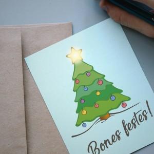 Postales de Navidad electrónicas