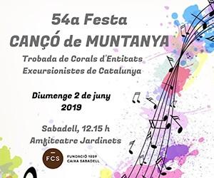 54a Festa Cançó de Muntanya