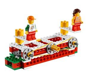 Construccions mecàniques amb Lego
