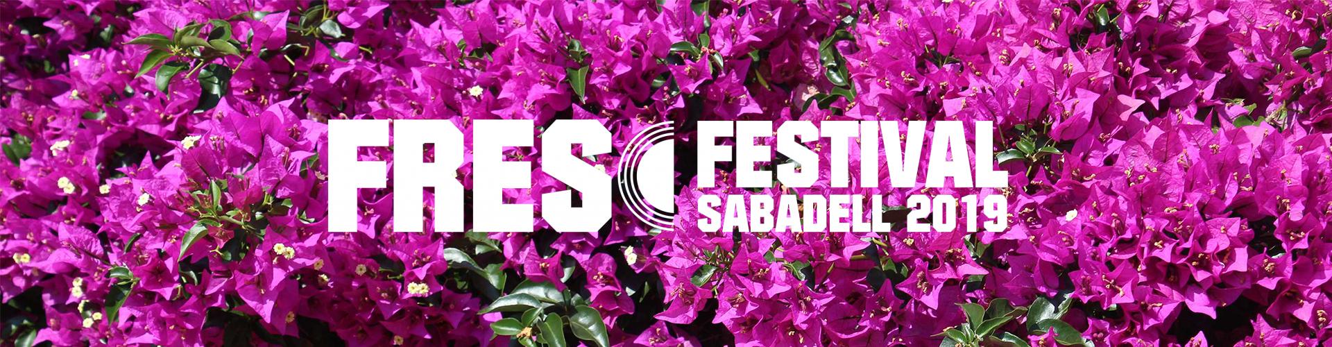 """""""Fresc Festival 2019: el Festival de Verano del Vallès"""""""