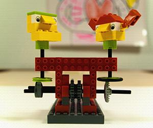 ¡Autómatas de Lego en acción!