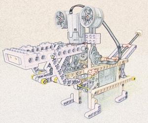 lego motoritzat
