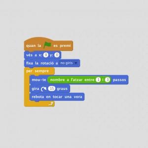 Programa videojuegos con Scratch