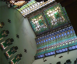 Visita als edificis modernistes de la Fundació 1859 Caixa Sabadell
